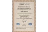 ISO9001:2008证书英文
