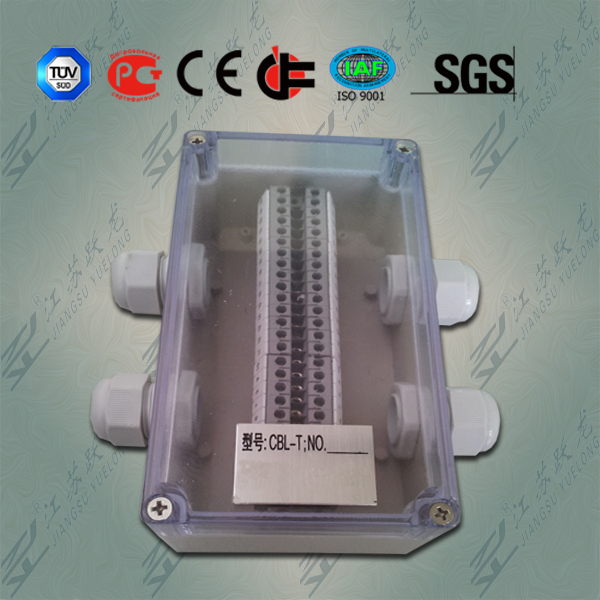 IP65防水端子接线盒(透明盖子)