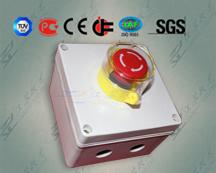 IP65急停按钮盒